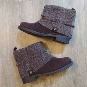 New muk luks sweater boots 10